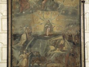 Iglesia parroquial de la Natividad de Urrestilla. Pintura. Nuestra Señora de la Asunción