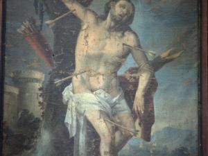 Iglesia parroquial de la Natividad de Urrestilla. Pintura. San Sebastián