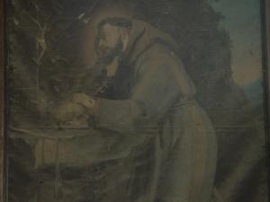 Iglesia parroquial de la Natividad de Urrestilla. Pintura. San Fernando
