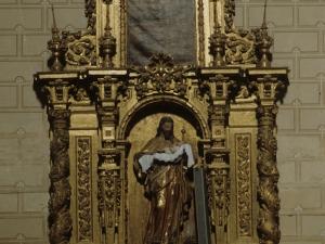Iglesia parroquial de la Natividad de Urrestilla. Retablo de San José