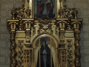 Iglesia parroquial de la Natividad de Urrestilla. Retablo de la Dolorosa