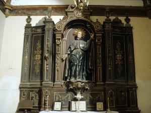Iglesia parroquial de la Natividad de Urrestilla. Retablo de Santo jesuita