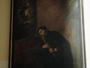 Iglesia parroquial de la Natividad de Urrestilla. Pintura. Retrato de José de Anchieta