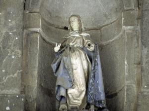 Iglesia parroquial de la Natividad de Urrestilla. Escultura. Virgen