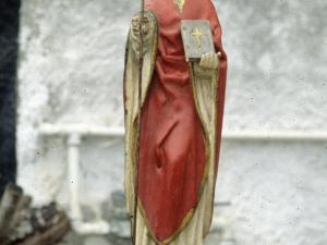 Iglesia parroquial de la Natividad de Urrestilla. Escultura. San Martín de Tours
