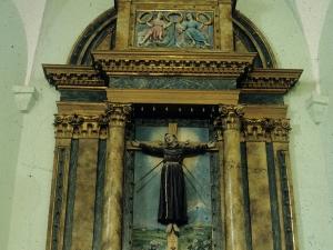 Iglesia parroquial de San Martín de la Ascensión de Matxinbenta. Retablo de San Martín de Tours