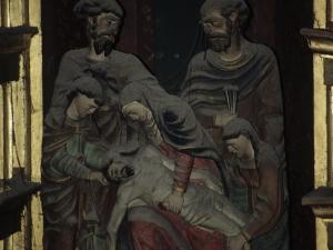 Iglesia parroquial de San Sebastián de Soreasu. Escultura. Piedad
