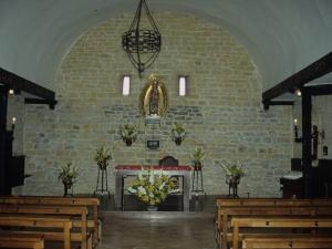 Ermita de Olatz. Altar de la ermita