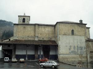 Iglesia parroquial de la Natividad de Urrestilla.