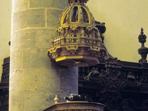 Iglesia parroquial de Nuestra Señora de la Asunción. Púlpito