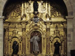 Iglesia parroquial de Nuestra Señora de la Asunción. Retablo de San Francisco