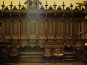 Iglesia parroquial de Nuestra Señora de la Asunción. Sillería