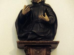 Iglesia parroquial de Nuestra Señora de la Asunción. Escultura. San Luis Gonzaga y San Estanislao de Kostka
