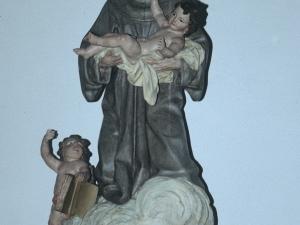Iglesia parroquial de Nuestra Señora de la Asunción. Escultura. San Antonio