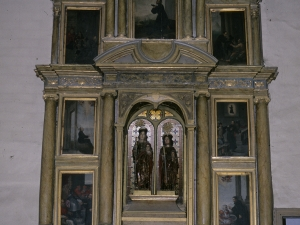 Ermita de los Santos Mártires. Retablo de Santos mártires