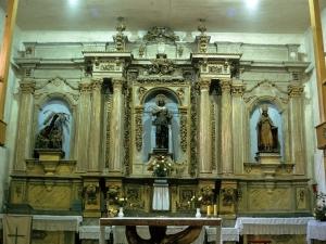 Ermita de San Isidro de Madariaga. Retablo de San Isidro