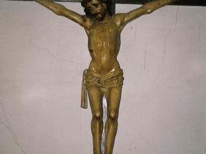 Ermita de San Isidro de Madariaga. Escultura. Cristo Crucificado