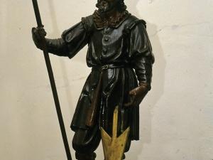Ermita de San Isidro de Madariaga. Escultura. San Isidro