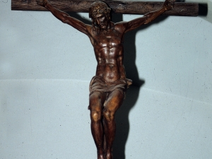 Ermita de la Andra Mari de Urrategi. Escultura. Cristo Crucificado
