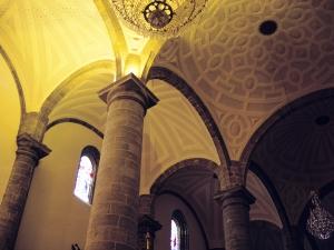Iglesia parroquial de Nuestra Señora de la Asunción. Bóvedas