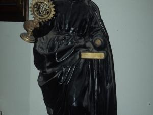 Santuario de Loyola. Imagen de San Ignacio de Loyola