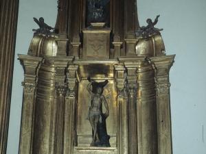 Iglesia parroquial de San Juan Bautista. Retablo de San Sebastián