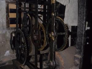 Iglesia parroquial de San Juan Bautista. Reloj de torre