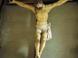 Iglesia parroquial de San Juan Bautista. Escultura. Cristo Crucificado