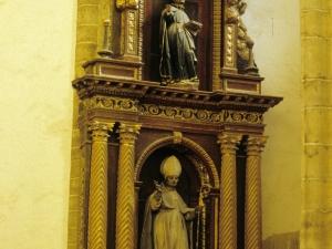 Iglesia parroquial de San Martín de Tours. Retablo de Santo obispo
