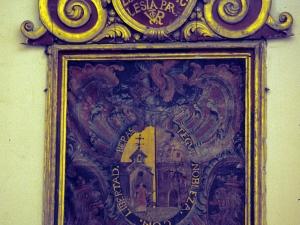 Iglesia parroquial de San Martín de Tours. Pintura. Conmemoración patronato