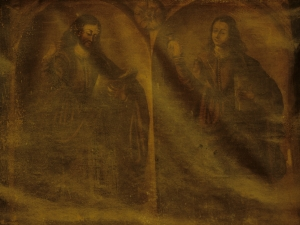 Iglesia parroquial de San Martín de Tours. Pintura. Santo y María Magdalena