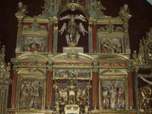 Iglesia de Nuestra Señora de la Asunción de Eldua. Retablo de Nuestra Señora de la Asunción