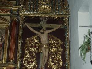 Iglesia de Nuestra Señora de la Asunción de Eldua. Retablo de Cristo Crucificado