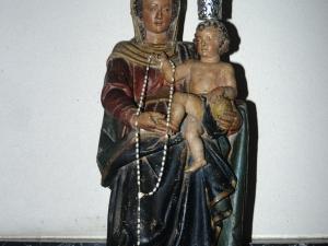 Iglesia de Nuestra Señora de la Asunción de Eldua. Escultura. Virgen del Rosario