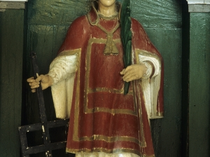 Ermita de San Lorenzo. Escultura. San Lorenzo