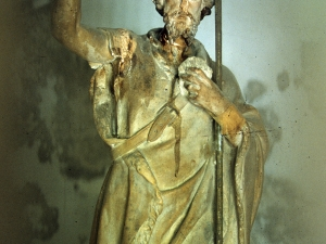 Humilladero de San Juan. Escultura. San Juan Bautista