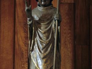 Ermita de San Prudencio de Elorregi. Escultura. San Prudencio