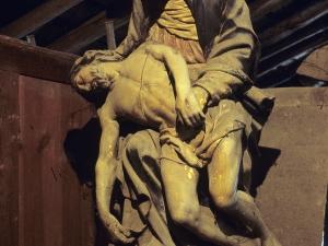 Ermita de San Prudencio de Elorregi. Escultura. Piedad