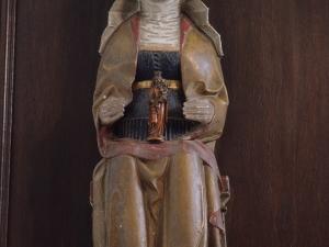 Ermita de San Blas de Burinondo. Escultura. Santa Isabel
