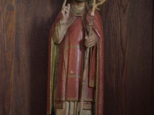 Ermita de San Blas de Burinondo. Escultura. San Blas