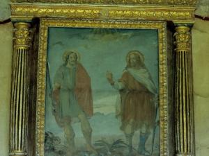 Ermita de los Mártires de Ubera. Pintura. San Emeterio y San Celedonio