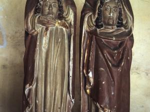 Ermita de los Mártires de Ubera. Escultura. San Emeterio y San Celedonio