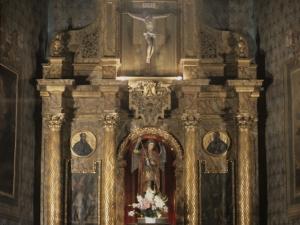 Iglesia parroquial de San Miguel de Angiozar. Retablo de San Miguel Arcángel