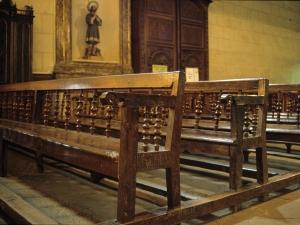 Iglesia parroquial de San Miguel de Angiozar. Banco