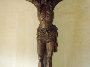 Iglesia parroquial de San Miguel de Angiozar. Escultura. Cristo Crucificado