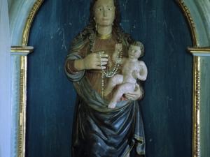 Ermita de San Vicente. Escultura. Virgen del Rosario