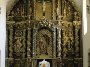 Iglesia parroquial de San Andrés de Elosua. Retablo de San Andrés
