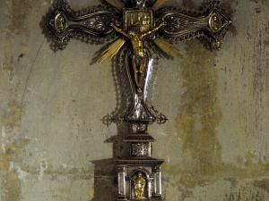 Iglesia parroquial de Nuestra Señora de la Asunción y del manzano. Cruz procesional