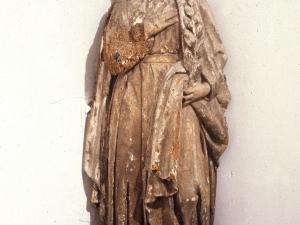 Iglesia parroquial de Nuestra Señora de la Asunción y del manzano. Escultura. Prudencia