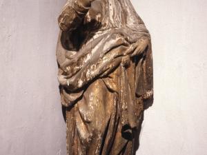 Iglesia parroquial de Nuestra Señora de la Asunción y del manzano. Escultura. Justicia